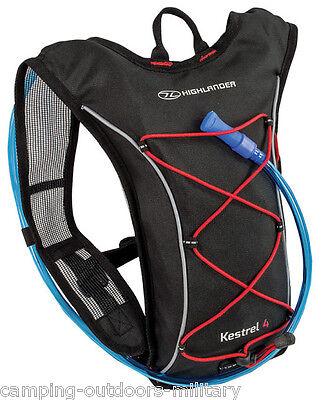 Highlander 4 L Hydration Pack Rucksack Backpack & water bladder Cycling Running