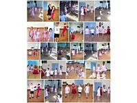 Children's dance, drama and musical theatre classes