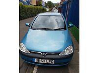 Vauxhall corsa 2003 1.0 62k