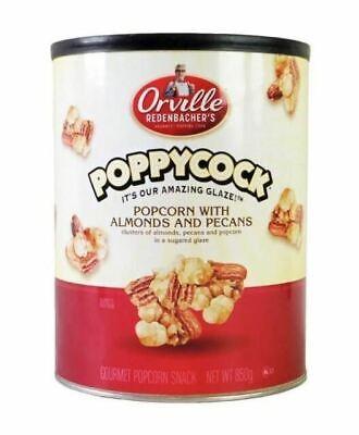 NEW Orville Redenbacher's Poppycock Gourmet Popcorn 🍿 Almond Pecans 850g (Almond Pecan Candy)