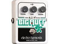 Electro Harmonix Big Muff Pi with Tone wicker - BNIB
