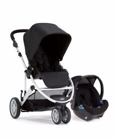 Mamas & Papas Zoom Travel System Black Excellent Condition