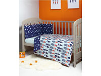 Bedding set mamas & papas; sheet, duvet and bumper. To collect W5