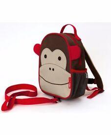 Skip Hop Zoo Mini Backpack with Rein