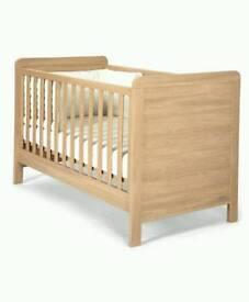 Mamas and papas rialto cot bed and mattress
