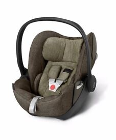 Mamas and papas cybex aton q car seat with isofix base
