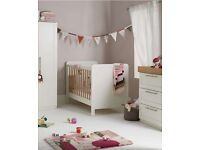 Mamas & Papas Rialto Ivory & Oak Nursery Set