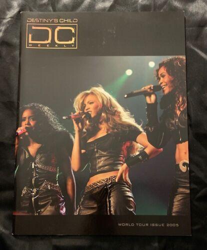 BEYONCE DESTINYS CHILD 2005 DESTINY FULFILLED & LOVIN IT WORLD TOUR BOOK PROGRAM