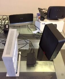 Various Routers and Modems