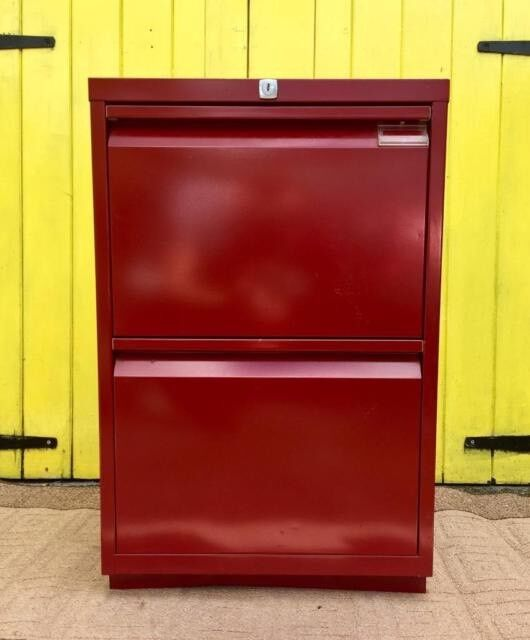 FILING CABINET - RED
