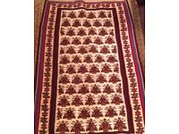 beautiful Fine Old Hand Made Persian Kilim Rugs Oriental Wool Cream Kilim