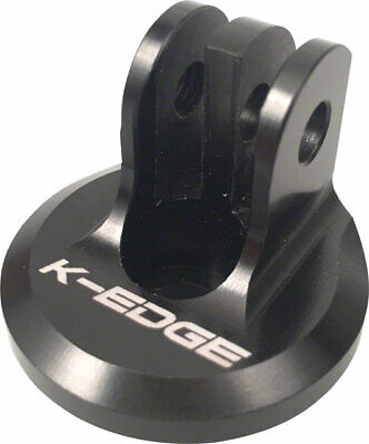 K-EDGE Go Big GoPro Top Cap Mount Black, used for sale  Shipping to Ireland
