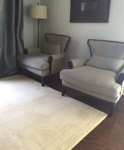 ELTE Chairs-Pair-Two sofa wing chairs