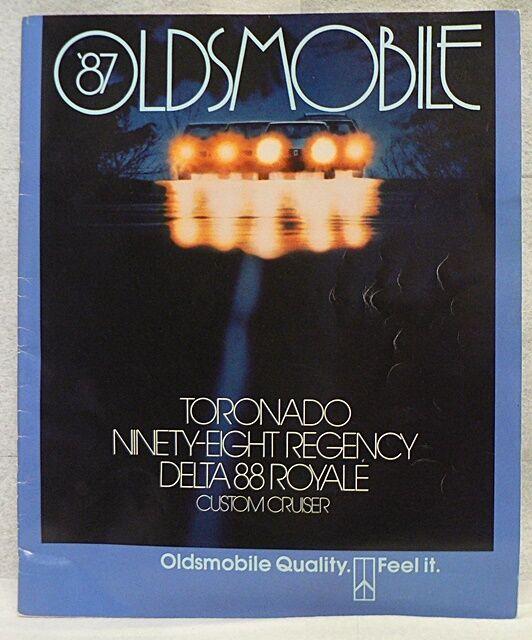 1987 OLDSMOBILE BROCHURE