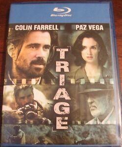 Triage- Colin Farrell, Paz Vega- Blue-Ray