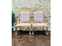 Wedding Stage Decoration £299 Cutlery hire 19p Backdrop Rental £199 Reception Flower Centrepiece £15