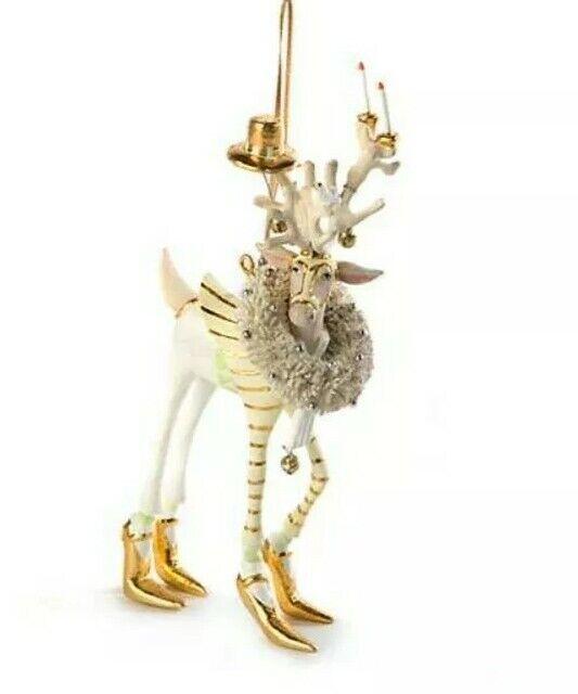 New Patience Brewster Moonbeam Prancer Reindeer LARGE Ornament Dash Away