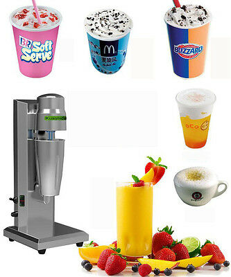 Soft Ice Cream Speed Mixer Milkshake Cyclone Machine Commercialhousehold Use