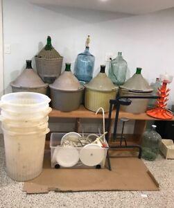 Matériel de fabrication de vin