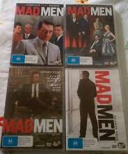NEW MAD MEN DVD'S - SEASON 1 TO 4 Warabrook Newcastle Area Preview
