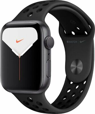 *BNIB* Sealed NIKE Apple Watch Series 5 40/44mm GPS Space Gray Silver Alum Case