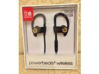 BRAND NEWBeats by Dr. Dre Powerbeats3 Wireless Ear-hook Headphones - Trophy Gold - NEW