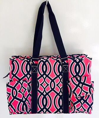 Multi Pocket Organizer Tote Bag Nurses Teachers Love Them! C