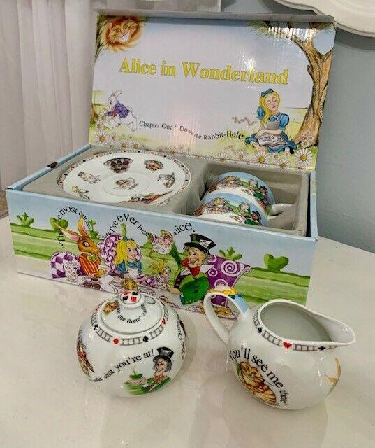 Paul Cardew Alice in Wonderland tea set