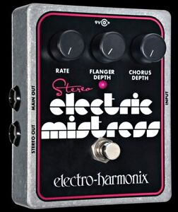 Electro-Harmonix Stereo Electric Mistress Flanger Guitar Effect