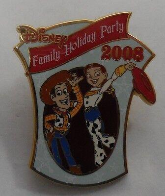 Disney Pin DLR C.E.Disney Familie Urlaub Party 2008 Woody und Jessie LE750 ()