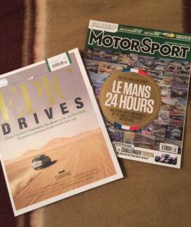 Epic Drives & Le Mans 24 Hours Magazines