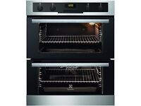 Electrolux Multifunction Electric Built-under Double Oven, Ceramic Hob and Cooker Hood