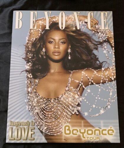 BEYONCE 2003 DANGEROUSLY IN LOVE WORLD TOUR  TOURBOOK PROGRAM