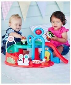 elc whizz around garage lights sounds cars early learning toy