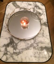 Galletly & Tubbs Decorative Mirrored Circular Tray Interior Design