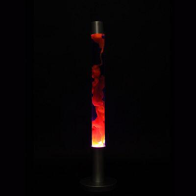 Verk. Mega Lavalampe - Design Lampe - Lava blau orange
