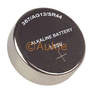 10 (TEN) of A76/357/303/AG13/LR44 Alkaline Battery FREE DELIVERY e