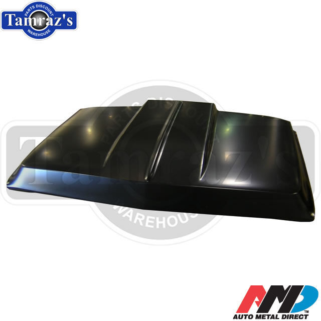 "69 72 Chevy GMC Truck C K Blazer Jimmy 2"" Steel Cowl Induction Hood AMD"
