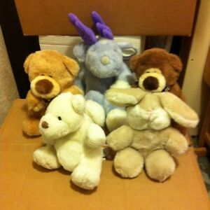 5 Gund Stuffies