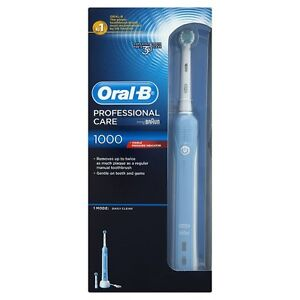 Oral-B Braun Professional Care 1000 Rechargeable Electric Toothbrush ** NEW **