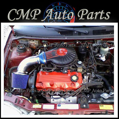 Blue 1991-1997 Chevy Geo Metro 1.0l 1.3l Lsi Xfi Air Intake Kit Systems