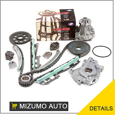 Fit 97 02 Ford E150 F150 Explorer Expediton 4 6L Timing Chain Water Oil Pump Kit