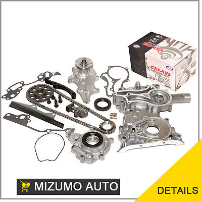 Fit 85-95 Toyota Pickup 4runner 22r Heavy Duty Timing Chain Water Oil Pump Kit