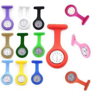 New-Cute-Silicone-Nurse-Watch-Brooch-Fob-Tunic-Quartz-Movement-Watch