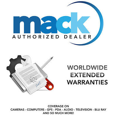 Mack 1274 2 Yr Tv Warranty In Home Service For Tvs Priced $1750 To $2500