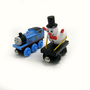 Thomas-and-the-Snowman-Car-NEW-Tank-Engine-Train-Wooden