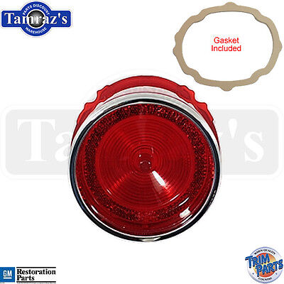65 Bel Air Rear Tail Light Lamp Lens With Gasket - Made In Usa
