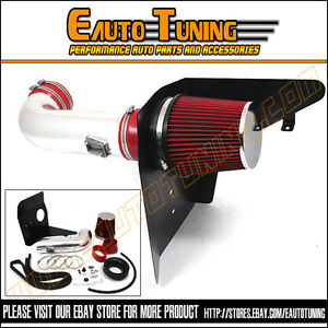 2010-2012-Camaro-SS-6-2-V8-COLD-SHIELD-AIR-INTAKE-KIT-RED-FILTER