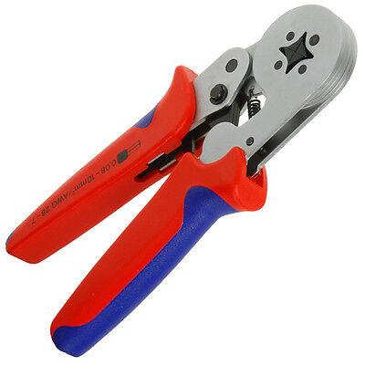 Crimp Technologies ® Self Adjusting Ferrule Crimper 23-10 Guage square crimp