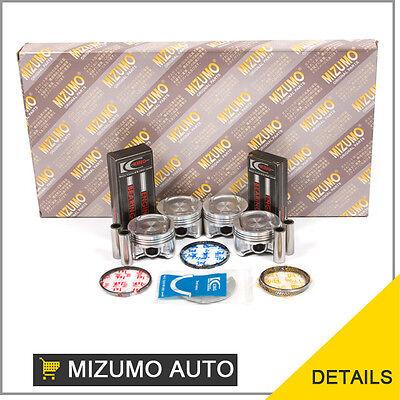Honda Civic Del Sol D16Y5 D16Y7 D16Y8 Full Gasket Set Pistons Main Rod Bearings